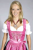 "Mini-Dirndl ""Pretty in Pink"""